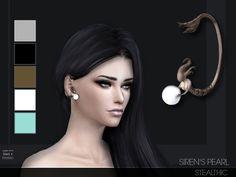 Stealthic - Siren's Pearl Ear Cuff L/R