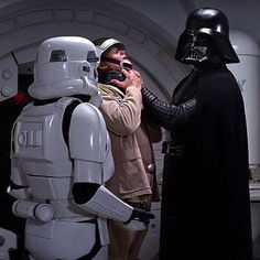 Is Lord Vader gonna have to choke a b*tch?
