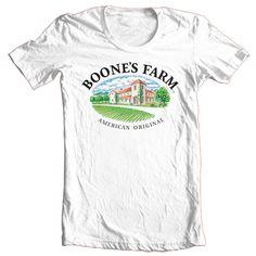 Boone's Farm Wine T Shirt Liquor Beer Alcohol Cotton Printed Graphic Tee Shirt   eBay