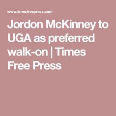 Jordon McKinney to UGA as preferred walk-on | Times Free Press