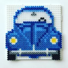VW Beetle hama beads by peetahtinen