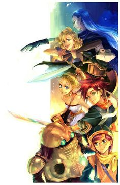 Chrono Trigger cast