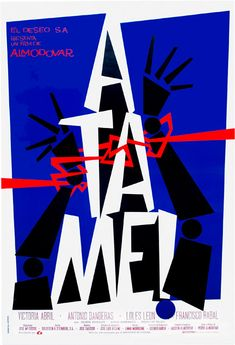 5092d21b Almodovar Almodovar Films, Cinema Posters, Film Posters, Blue Poster,  Foreign Movies,