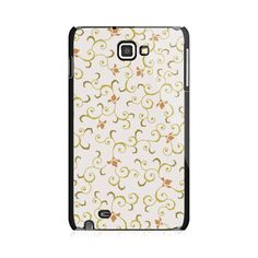 Curved Flowers Samsung Galaxy Note Case