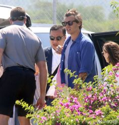 Harry arriving in Cabo, 17 August, 2018