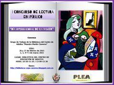 Cartel I Concurso de lectura en público
