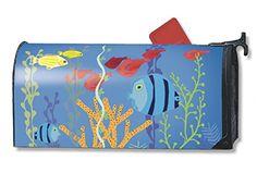 MailWraps Underwater World Mailbox Cover #02049