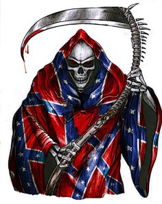 Cool Rebel Flag Backgrounds | Confederate Reaper by ~PainfullXpressionz on deviantART