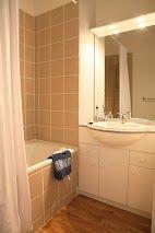 Exemple d'une salle de bain d'un appartement de la résidence Mona Lisa - Le Pra Palier, à Orcières