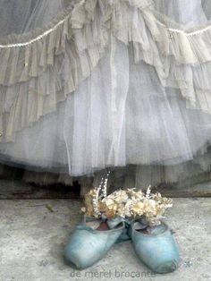Bleu Ballet Shoes...<3