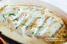 parmesangratinerad fisk med zucchinispagetti