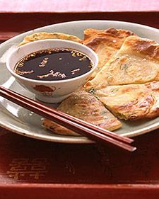 scallion pancakes crispy scallion cakes extra flaky scallion pancakes ...