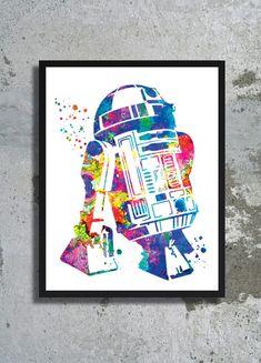 Resultado de imagem para star wars poster watercolor