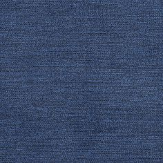 This is a solid blue cotton denim upholstery fabric ...