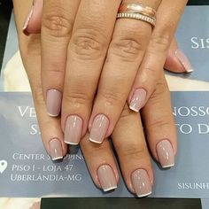 Image result for french tip nails square