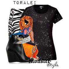 Designer Clothes, Shoes & Bags for Women Monster High Clothes, Cartoon Outfits, Stripe Skirt, Clowns, Polyvore Outfits, School Outfits, Black Stripes, High Fashion, Outfit Ideas