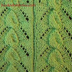 Bindweed knitting stitches