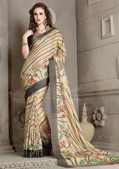 Multi Color Bhagalpuri Daily Wear Sarees : Siddhita Collection  YF-42766