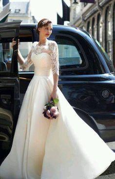 #WeddingGown #LongSleeves #WeddingDress