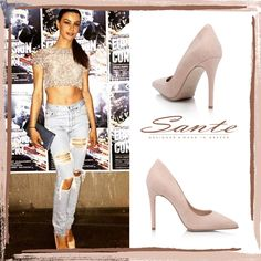Eirini Papadopoulou in SANTE Pumps #santeSS15  #SanteLovers Shop NOW: www.santeshoes.com