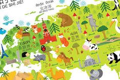 Image result for children's map Pikachu, Map, Fictional Characters, Location Map, Maps, Fantasy Characters