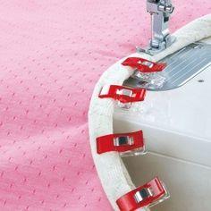 Pour la couture, il y a désormais un complément aux aiguilles!