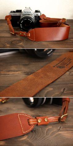 leather camera strap   Duram Factory