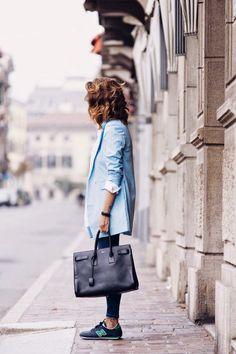 Look fashion, sporty fashion, sporty chic, net fashion, fashion outfits Fashion Blogger Style, Fashion Mode, Look Fashion, Fashion Outfits, Womens Fashion, Fashion Trends, Sporty Fashion, Net Fashion, Fashion Bloggers