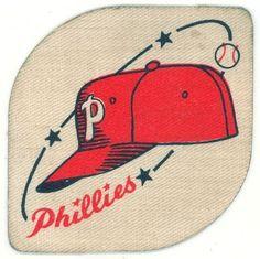 1940s 50s Baseball Philadelphia Phillies Patch