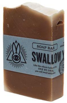 ARCANE BUNNY SOCIETY SWALLOW YOUR SOUL SOAP $7.00 #arcanebunnysociety #soap #vegan