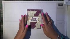 Stampin' Up! Bohemian Birthday Card/Kartka Urodzinowa
