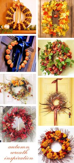 This is actually a huge list of Fall crafts, both kids and adult crafts!