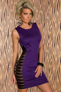 Minivestido lila Klavier - Vestidos sexys y coloridos http://www.lenceriasecret.com/novedades