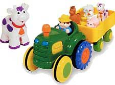 Fun Time Tractor -  Farm Animal Friends