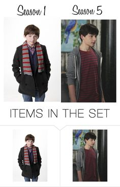 """""""Jared Gilmore/Henry Mills"""" by longlivetheprincess ❤ liked on Polyvore featuring art"""