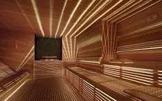 Look at the website above click the bar for additional information : 3 person infrared sauna Saunas, Sauna Steam Room, Sauna Room, Spa Interior, Spa Design, Sauna Lights, Deco Spa, Sauna A Vapor, Spa Lighting