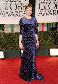 Michelle Williams, Golden Globes 2012