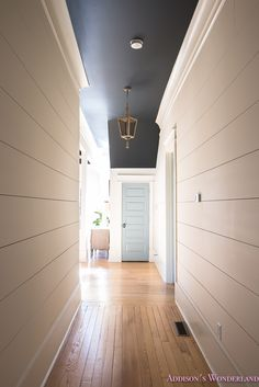One of my favorite spots in the house... our big ol' hallway reveal!