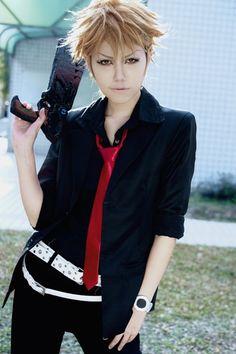 Shusei Kagari from Psycho - Pass Cosplay Boy, Epic Cosplay, Amazing Cosplay, Cosplay Costumes, Anime Cosplay, Cosplay Ideas, Business Outfits, Business Clothes, Cosplay Events
