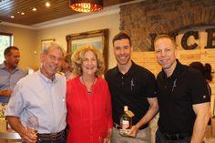 Ken & Marilyn Wuensche, Ryan Levy and Ian Eastveld - Nice Winery