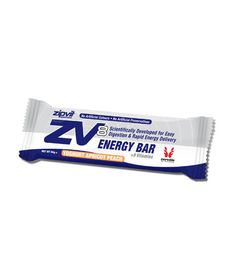 ZIPVIT ZV8 ENERGY BAR - The delicious tasting project ZV8 Energy Bar contains a unique, easily digestible blend of ingredients formulated specifically for the nutritional demands of endurance athletes. The proven carbohydrate formula digests easily, providing rapid energy delivery without stomach upsets.
