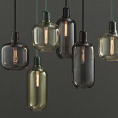 Normann Copenhagen Amp Small Hanglamp olijf