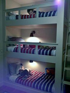 triplet bunks