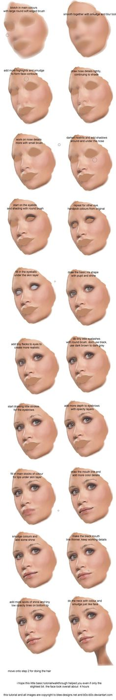 Digital Painting tutorial pt 1 by ~b0o-b0o on deviantART