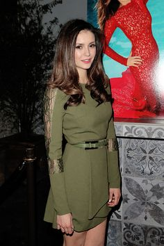 "dobrevclarke: "" Nina Dobrev attends 'The Beauty Book For Brain Cancer' Edition 2 Launch Party (December 03, 2015) """
