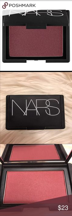 NARS Seduction Blush Brand New!  Nars Blush in Seduction( sangria).   No box included.  Makeup has been stored in my collection, packaging may not be 100% perfect as Nars products tend to get dirty however this is brand new!   Retail: 30$ Also on ♏️ NARS Makeup Blush