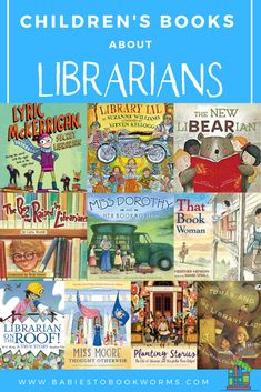 Celebrate the influence of librarians and the power of reading with these children's books about librarians and books! Kids Writing, Writing A Book, The Power Of Reading, Elementary School Library, Kindergarten Library, Good Books, Books To Read, School Librarian, Library Lessons