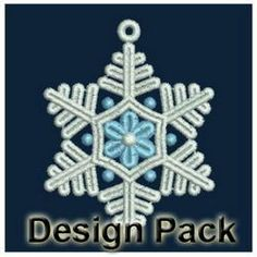 FSL Tiny Snowflakes machine embroidery designs