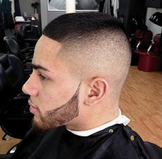 short shaved sides hairstyle for men