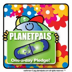 One a day pledge Earthday Project :) #earthday #families #Ecofriendly #ecokids #moms #dads